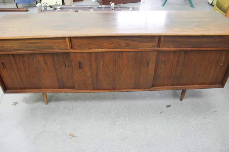 Danish Rosewood Credenza : Danish rosewood credenza by arne wahl from modern montage of